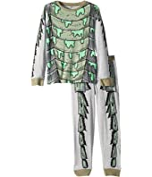 Stella McCartney Kids - Louie Monster Cotton Long Sleeve Tee and Jogger Pants Set (Toddler/Little Kids/Big Kids)