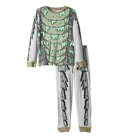 Stella McCartney Kids Louie Monster Cotton Long Sleeve Tee and Jogger Pants Set (Toddler/Little Kids/Big Kids)