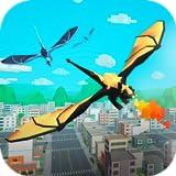 Pixel Dragon Hills: Fire Attack   City Destroying Games Dangerous Animal Simulator Mystical Creature...
