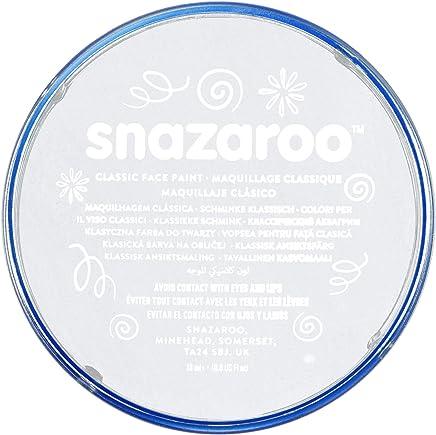 Snazaroo - Colore Per Viso 18Ml  Bianco