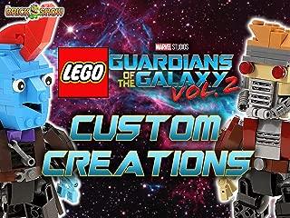 Clip: Lego Guardians of the Galaxy Vol. 2 Custom Creations