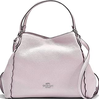COACH Women s Refined Pebble Leather Edie 31 Shoulder Bag 040b157dd0de9