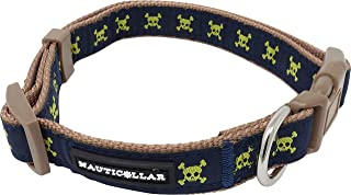 skull and crossbones dog collar
