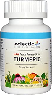 Eclectic Turmeric Cog Freeze Dried Vegetables, Blue, 90 Count