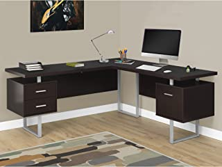 Monarch Specialties Computer Desk Left or Right Facing Capuccino 70