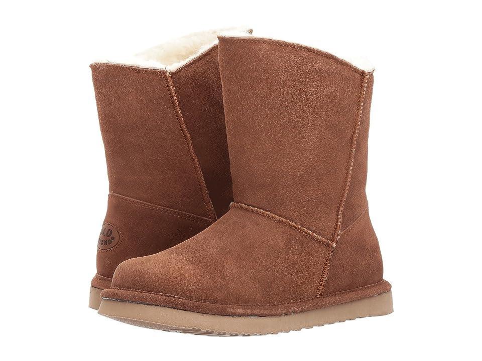 Old Friend Ewey Sheepskin Boot (Chestnut) Women