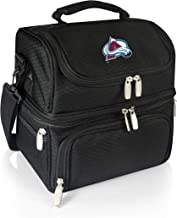 PICNIC TIME NHL Colorado Avalanche Pranzo Insulated Lunch Tote with Service for One