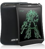 NEWYES - Tableta de Escritura con Pantalla LCD de 8,5 Pulgadas, con tecla de Bloqueo, líneas más Brillantes. para niños...