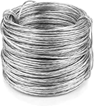 EAONE Picture Hanging Wire (100 Feet), Stainless Steel Photo Frame Hanging Wire