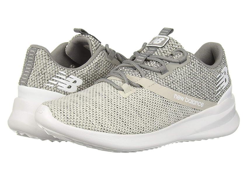 [ニューバランス] レディースランニングシューズ?スニーカー?靴 CUSH+ District Run Light Cliff Grey/Marblehead 6 (23cm) B [並行輸入品]