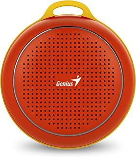 Genius SP-906BT Outdoor Portable Bluetooth Speaker (Red)