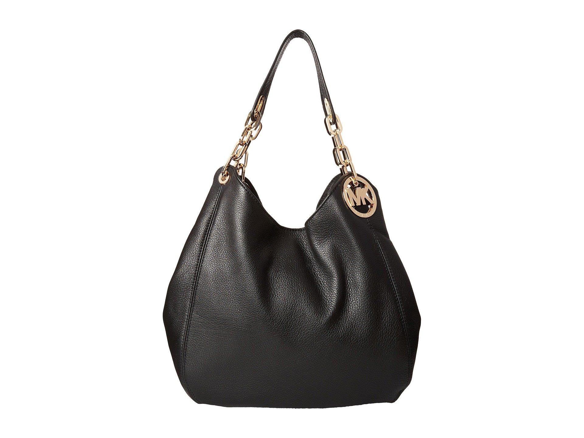 a3d70b690e4f07 Michael Kors Fulton Large Black Shoulder Tote Bags | Stanford Center ...
