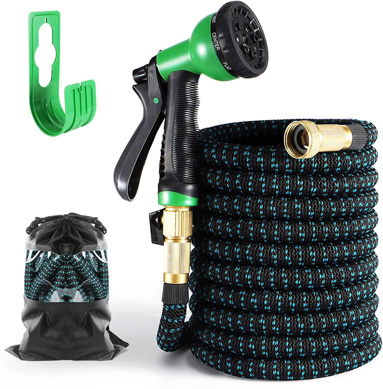 Expandable Garden Max 71% OFF Hose 75FT Bombing free shipping Durable Function Spra Water 8