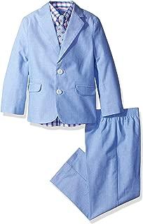 IZOD Boys' 4-Piece Suit Set with Dress Shirt, Tie, Pants, and Jacket