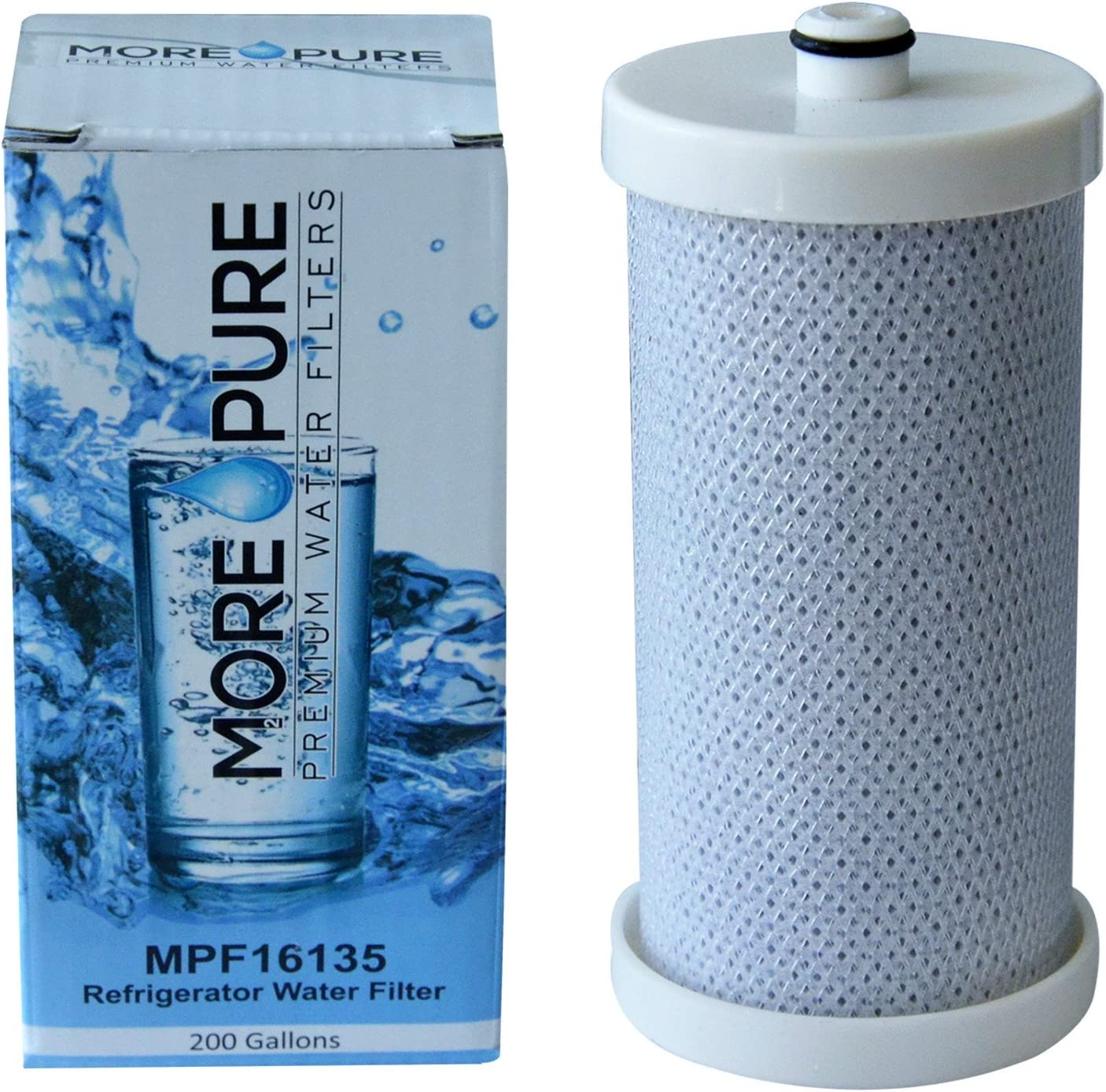 MORE Pure MPF16135 Replacement Compati Wholesale Water Mail order Filter Refrigerator