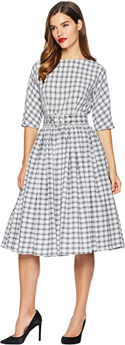 1940s Style Sleeved Sally Swing Dress