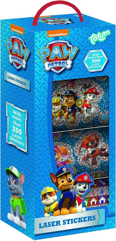 PAW Patrol - Stickerbox mit über 350 Laser Stickern