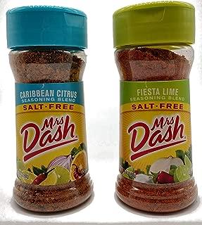Mrs. Dash Caribbean Citrus and Fiesta Lime Bundle (2.4 oz, 1 of each flavor)