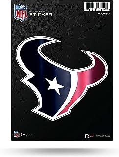 Rico Industries NFL Unisex-Adult Die Cut Metallic Sticker