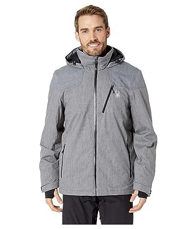 Spyder Traveler Jacket (Polar Herringbone/Black/Black) Men