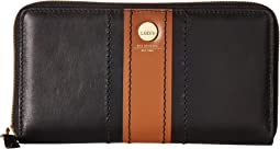 Lodis Accessories - Rodeo Stripe RFID Perla Zip Wallet