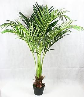 FloralStem - Planta artificial de palmera de fénix (130 cm), diseño exótico, para el hogar y la oficina