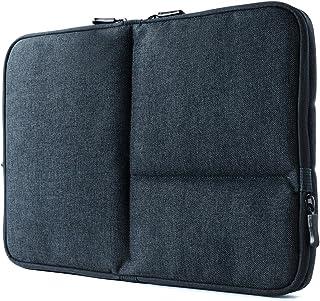 サンワダイレクト ノートパソコンケース 13.3インチ Surface Laptop2 / MacBook Air 13.3インチ 小物ポケット×3 ネイビー 200-IN050NV