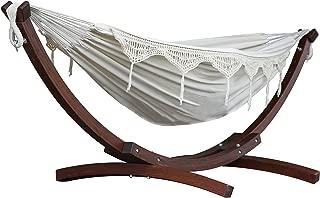 Vivere C8SPCT - Doble algodón hamaca con madera de pino
