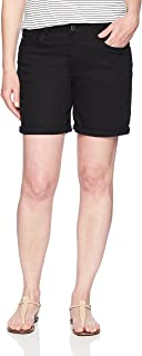 Riders by Lee Indigo Women's Rolled Cuff Midrise Denim Short with 6