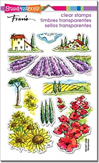 Stampendous Field of Flowers Clear Stamp Set