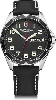 Victorinox - Hombre Field Force - Reloj de Acero Inoxidable de Cuarzo analógico de fabricación Suiza con día/Fecha 241846