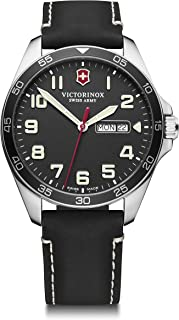 Victorinox Men's Field Force - Swiss Made Analogue Quartz Stainless Steel Watch with Day/Date 241846