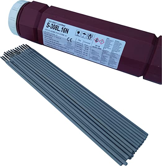 10x Elektroschweißgerät Schweißelektroden für Edelstahl