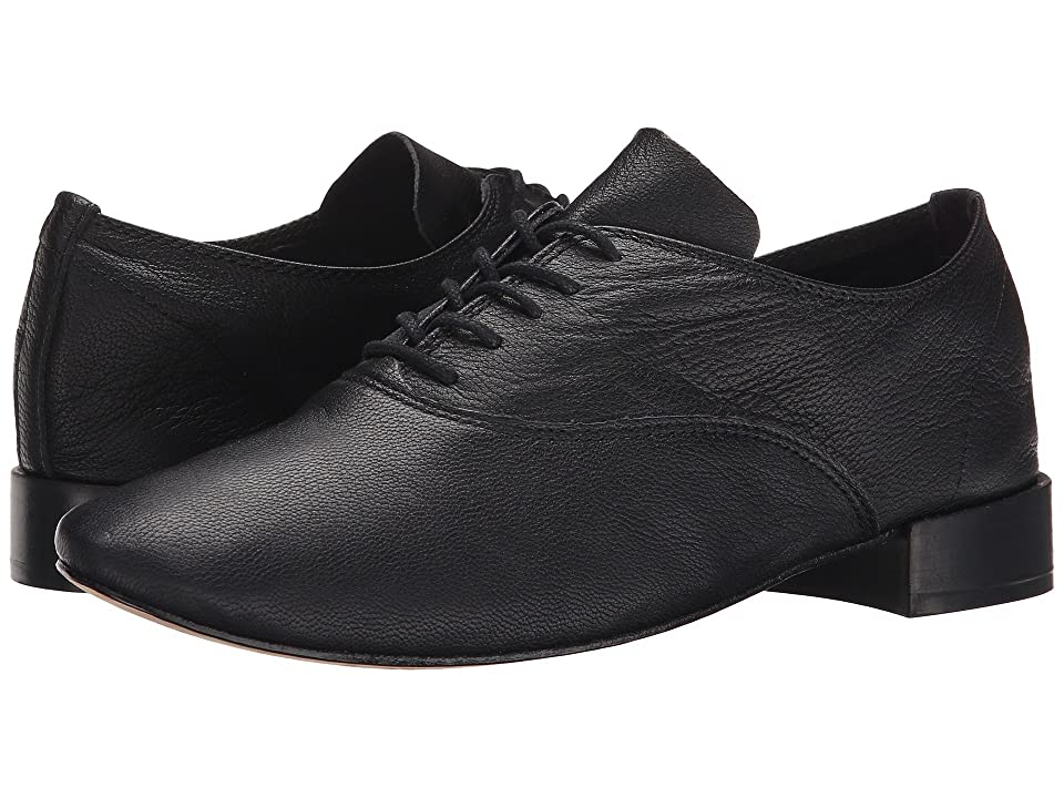 Women's Oxford Shoes – Vintage 1920s, 1930s, 1940s Heels Repetto Zizi Black Lambskin Womens Shoes $335.00 AT vintagedancer.com