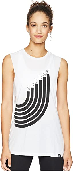 Track Muscle Tank Top