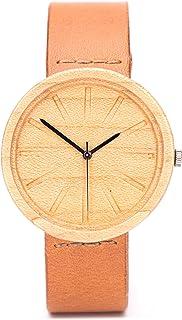 Relojes de madera, caja de madera natural, reloj ligero y elegante, Ovi Watch