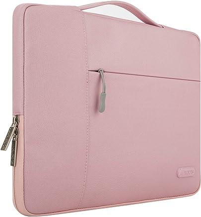 MOSISO Multifunzionale Custodia Protettiva Sacchetto della Copertura Compatibile 12.9 iPad PRO / 13.3 Pollice Laptop/Notebook/MacBook Air/MacBook PRO da Trasporto Protector Cartella Borsa,Rosa