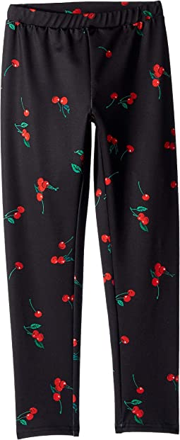 Cherry-Print Jersey Leggings (Little Kids)