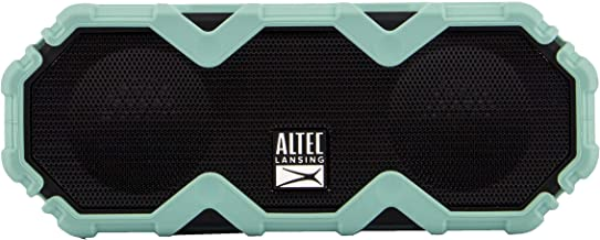 Altec Lansing IMW479 Mini LifeJacket Jolt Heavy Duty Rugged and Waterproof Ultra Portable Bluetooth Speaker with up to 16 ...