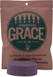 2% Pyrithione Zinc Shampoo Bar with Shea Butter by Grace of Me (4 Oz) (Tea Tree)