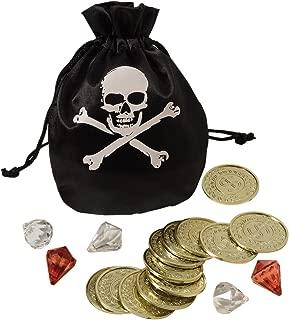 Amscan Coin & Pouch Set Pirates, Multi-Colour