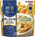 カゴメ 糖質想いの 押し麦がゆ 彩り野菜と旨み玉ねぎ 250g