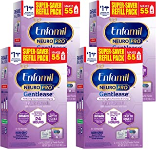 Enfamil NeuroPro Gentlease Baby Formula, Brain and Immune Support with DHA, Clinically Proven to Reduce Fusiness, Gas, Cry...