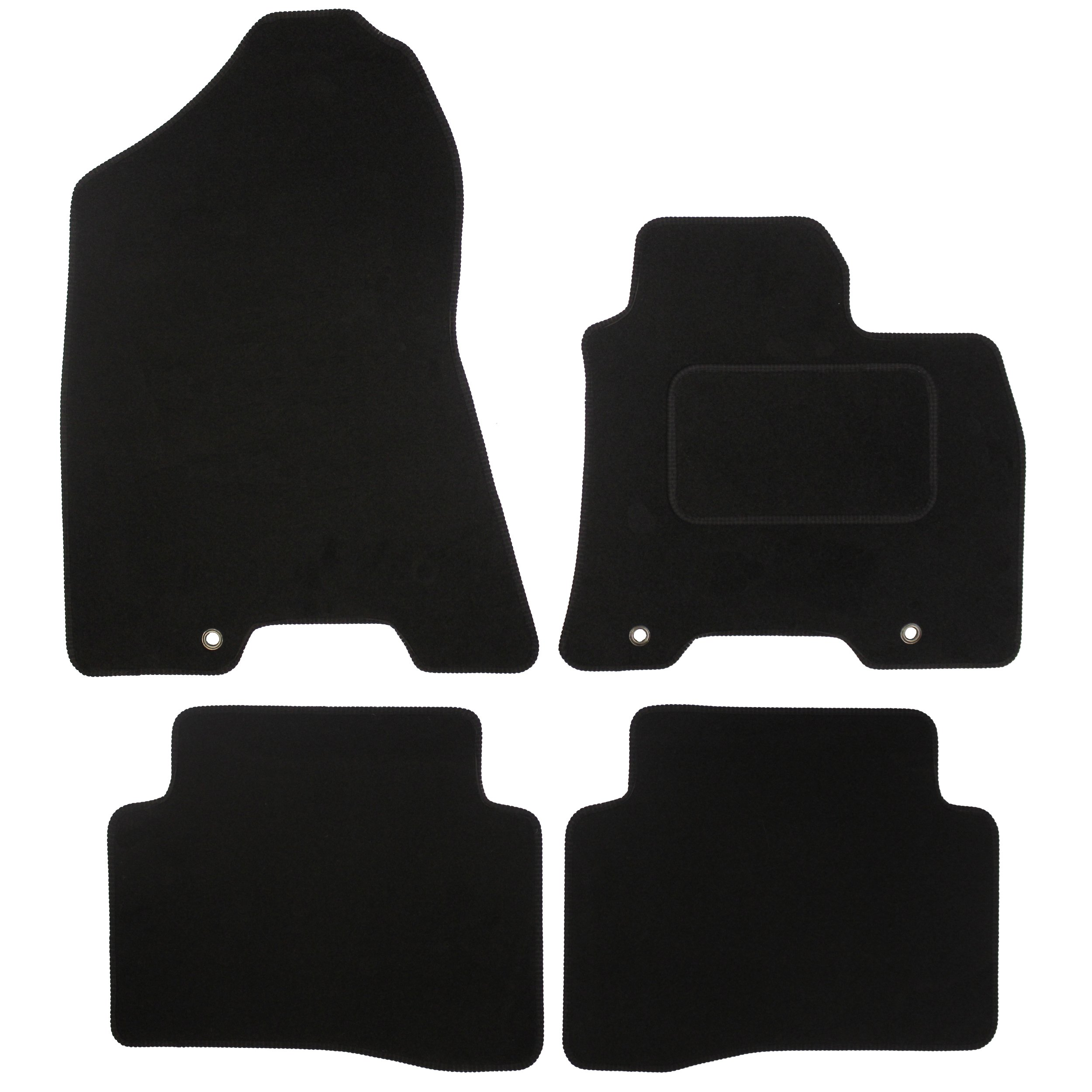 Official Hyundai Tucson 07//2015-07//2018 Footwell Floor Mats all weather