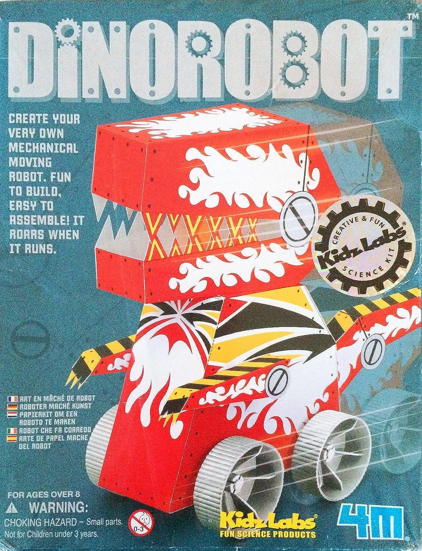 4M Kidz Labs Dinobot Robot Kit [並行輸入品]