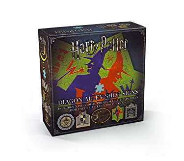 The Noble Collection Harry Potter Diagon Alley Shop Signs Puzzle