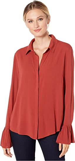 49a64a31b4 Women's Liverpool Blouses + FREE SHIPPING | Clothing | Zappos.com