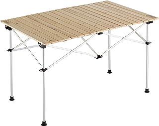 コールマン(Coleman) テーブル ナチュラルウッドロールテーブル