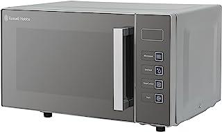 Russell Hobbs RHEM2301S 23L Easi Flatbed Digital 800w Solo Microwave Silver