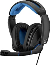 EPOS Sennheiser GSP 300 Gaming Headset with Noise-Cancelling Mic, Flip-to-Mute, Comfortable Memory Foam Ear Pads, Headphon...